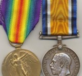 Great War History Hub Whitchurch Shropshire Medal