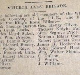 Whitchurch Church Lads Brigade