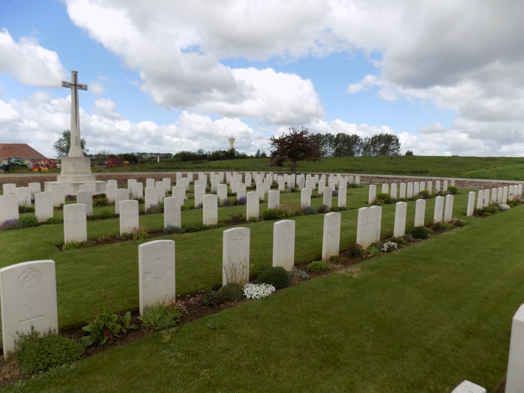 Boyelles Communal Cemetery Extension, France